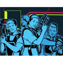 Lasergame Chemnitz Spielmodus Team